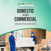 Seek Quality And Affordable Removals From Ireland to UK